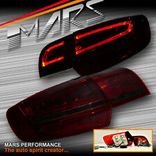Smoked Red LED 3D Stripe Bar Tail Lights for AUDI A3 8P HatchBack 05-08