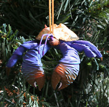 2016 Custom Disney Moana Movie TAMATOA OCEAN BLUE CRAB Christmas Ornament PVC