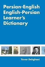 Persian-English English-Persian Learner's Dictionary by Yavar Dehghani (2006,...