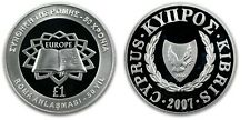 1986 Cyprus Large Proof Silver 1 Pound- Ram