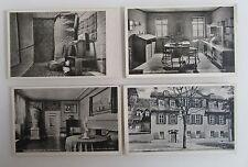 Postkarten Lot mit 4 x WEIMAR Thüringen alte Ansichtskarten ungelaufen ~1940/50