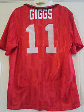 Manchester United Giggs 1992-1994 Home Football Shirt Size Medium /39747