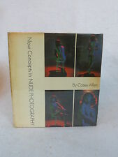 Casey Allen  NEW CONCEPTS IN NUDE PHOTOGRAPHY A.S. Barnes and Co. 1966 HC/DJ