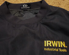 Irwin Industrial Tools ~  Windbreaker Jacket Shirt ~  NWOT ~