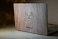 "Real Wood Macbook Pro Retina 15"" FULL BODY Wrap Cover Case Protection Decal Skin"