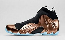 Nike Air Flightposite 2014 PRM SZ 10 Dirty Copper Black Foamposite QS 658109-800