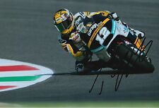 Thomas Luthi Hand Signed 12x8 Photo Interwetten Kalex Moto2 2015 MOTOGP 1.