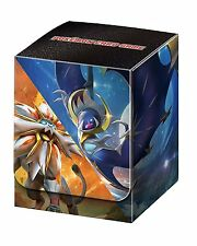 Japanese Pokemon SM1 Sun & Moon DECK BOX with Solgaleo & Lunala BRAND NEW!!