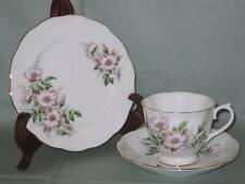 Royal Albert Friendship Wild Rose Bone China Trio Tea Cup Saucer & Side Plate