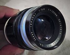 EXTREMELY RARE f/3.5 100MM TELEPHOTO ASAHI TAKUMAR M42 SCREW MOUNT LENS