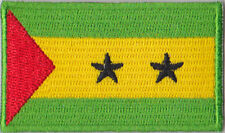 Sao Tome and Principe Flag Embroidered Patch T4