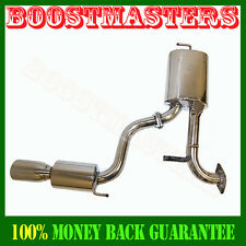 Stainless Steel Catback Exhaust for 2000-2005 Toyota Celica GT/GTS Hatckbach 2D