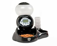 Automatic Pet Feeder Dog Cat Food Water Programmable Dish Bowl Electronic