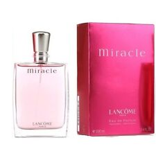 Lancome Miracle 100ml  Eau De Parfum 3.4 Fl.Oz EDP AUTHENTIC NEW & CELLO-SEALED