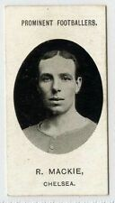(Gl127-386) Taddy, Prominent Footballers, R.Mackie, Chelsea 1907 EX
