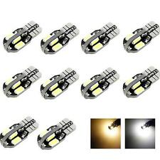 10 x Canbus T10 194 168 W5W 5730 8 LED SMD blanco Coche Lateral Cuña Bombilla