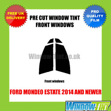 FORD MONDEO ESTATE 2014+ FRONT PRE CUT WINDOW TINT