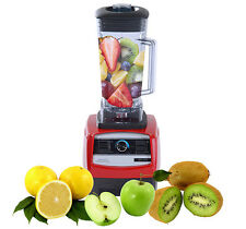 New 2HP High Performance Pro Commercial Fruit Smoothie Blender Juice Mixer 1500W