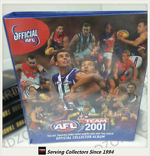 AFL TRADING CARD OFFICIAL ALBUM--2001 AFL Teamcoach Official Album (No Pages)