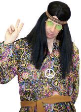 Anni'60 /'70 Hippy KIT, archetto, Parrucca, le specifiche Collana Set
