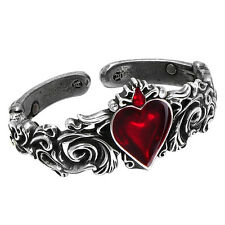 Official Alchemy Gothic Rococo Style Betrothal Petwer Bracelet Bangle - Crystal