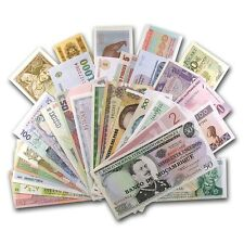 50 World Bank Notes - (From 50 Different Countries) Uncirculated - SKU #24522