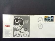 Apollo 11 RCA First Day Cover FDC First Man on the Moon 1969 Stamp Washington