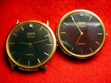 2-- GENEVE WRISTWATCH MOVEMENTS IN 1 LOT EACH 30 MM WIDE!!  #44