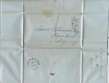 Irlande North Ireland Ulster 1846 EL Entire Letter lettre Coleraine Ballymoney