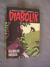 DIABOLIK ORIGINALE ANNO XIV n° 16 - 1975 - RARO - OTTIMO