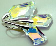 *DE-ART* -  *Crystal AB* - Set mit  Swarovski Elements - Silber 925 - Geschenk