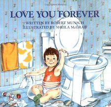 Children's Book Love You Forever Robert Munsch 1995 Paperback English Age 4-8