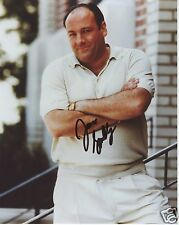 JAMES GANDOLFINI - SOPRANOS AUTOGRAPH SIGNED PP PHOTO POSTER