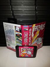 Crazybus -  Video Game for Sega Genesis! Cart & Box!