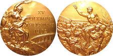 Enmarcado impresión - 1952 Helsinki Olímpicos Medalla de Oro (Imagen Arte Cartel Ennis Perno)
