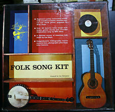 VINYL RECORD ALBUM FOLK SONG KIT JAC HOLZMAN GUITAR INSTRUCTION COURSE CHARTS