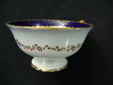 Coalport England Spearpoint Cobalt Blue Tea Coffee Cup Y 3691 A.D. 1750 49 Gold