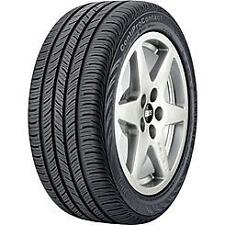 New set of 4 225/60R16 98 H Continental True Contact