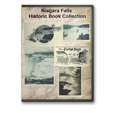 Niagara Falls  - 33 Historic Books - Many Highly Illustrated - CD - D467