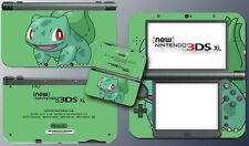 Bulbasaur Special Edition Green Video Game Decal Skin New Nintendo 3DS XL