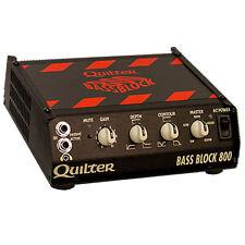QUILTER LABS Bass Block 800 Watt Ultralight Bass Amplifier w/ Bag Returned Unit