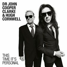 Dr John Cooper Clarke & Hugh Cornwell - This Time It's Personal - New LP - 14/10