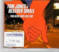 (FK719) Tom Jones & Heather Small, You Need Love Like I Do - 2000 CD
