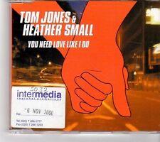 (FK719) Tom Jones & Heather Small, You Need Love Like I Do - 2000 CD