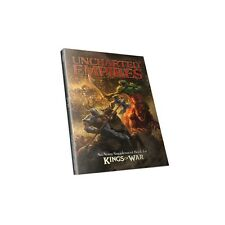 Mantic Games BNIB Kings of War Uncharted Empires Book MGKW07