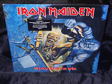 Iron Maiden No Prayer For The Dying SEALED USA 1990 Red Translucent VINYL LP