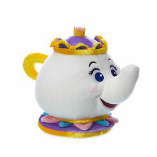"""Disney Store Authentic Beauty and the Beast Mrs. Potts Plush Toy Doll 7 1/2"""" NWT"""