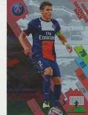 PSG-13 THIAGO SILVA # BRAZIL DEFENSIVE PARIS.SG CARD ADRENALYN FOOT 2015 PANINI