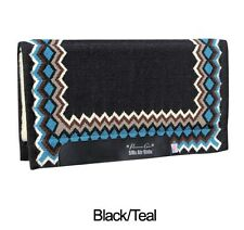 Shilloh Black Teal Professional's Choice SMx H.D. Air Ride Western Saddle Pad