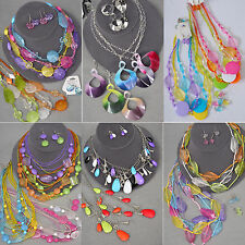 48 PC (24 sets) WHOLESALE LOT COSTUME / FASHION JEWELRY NECKLACE EARRINGS